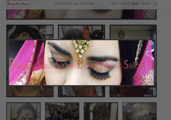 Beauty Spot Salon Portfolio by IamSharma.com
